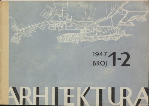 Arhitektura 1947 / 1-2