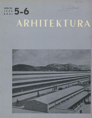 Arhitektura 1953 / 5-6