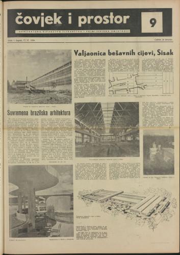 Čovjek i prostor 1954 / 9