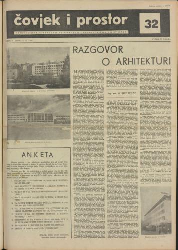 Čovjek i prostor 1955 / 32