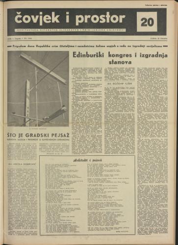 Čovjek i prostor 1954 / 20
