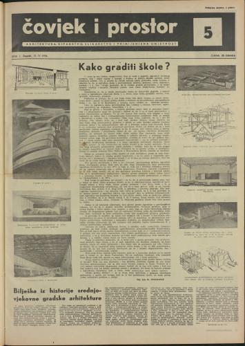Čovjek i prostor 1954 / 5