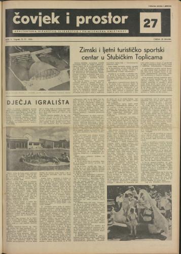 Čovjek i prostor 1955 / 27