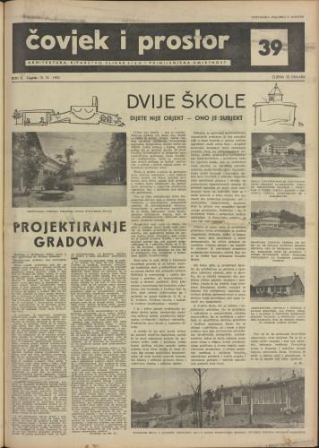 Čovjek i prostor 1955 / 39