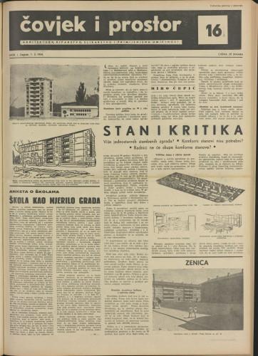 Čovjek i prostor 1954 / 16