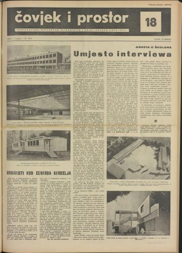 Čovjek i prostor 1954 / 18