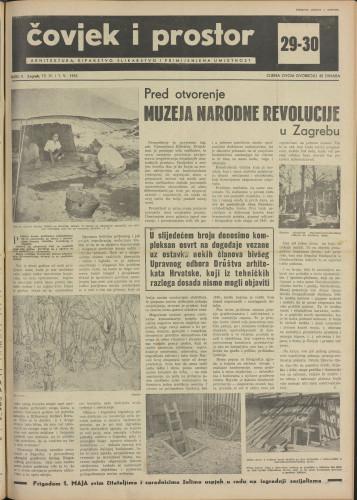 Čovjek i prostor 1955 / 29-30