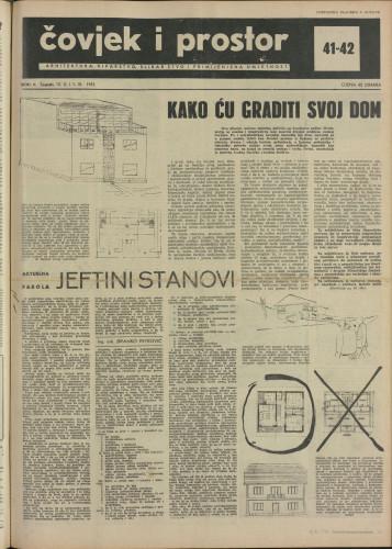 Čovjek i prostor 1955 / 41-42