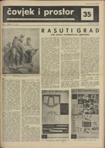 Čovjek i prostor 1955 / 35