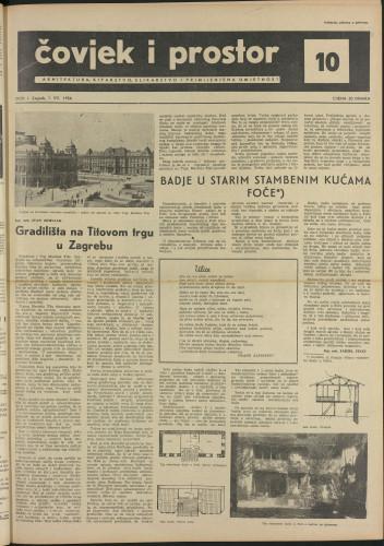 Čovjek i prostor 1954 / 10