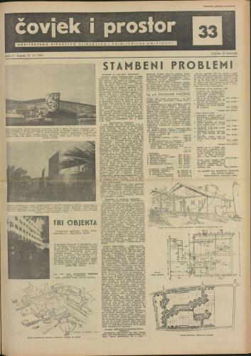 Čovjek i prostor 1955 / 33