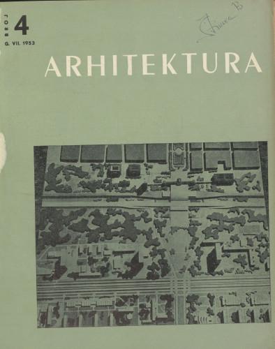Arhitektura 1953 / 4