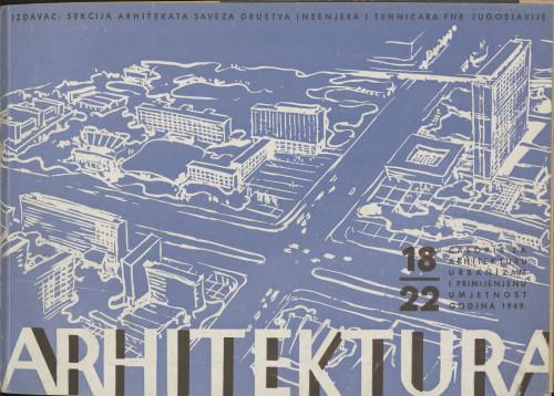 Arhitektura 1949 / 18-22