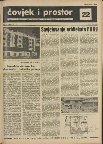 Čovjek i prostor 1955 / 22