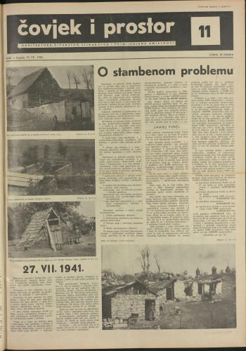 Čovjek i prostor 1954 / 11