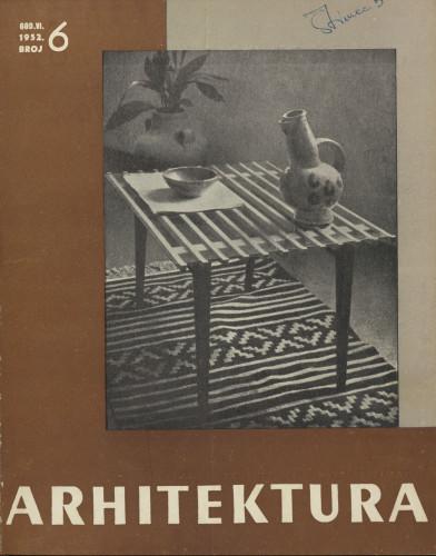 Arhitektura 1952 / 6