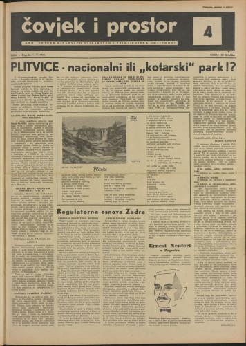 Čovjek i prostor 1954 / 4
