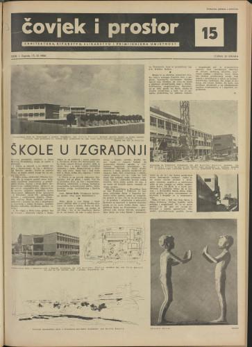Čovjek i prostor 1954 / 15