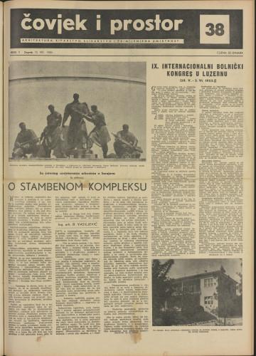Čovjek i prostor 1955 / 38
