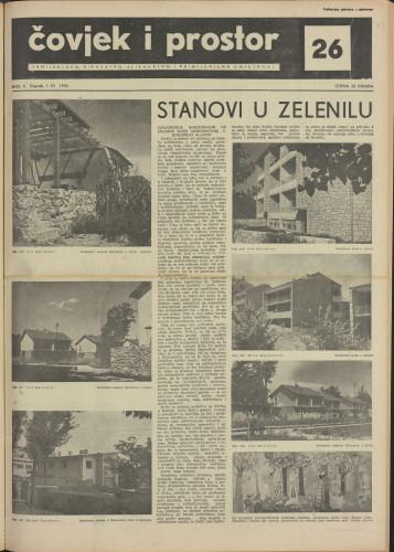Čovjek i prostor 1955 / 26