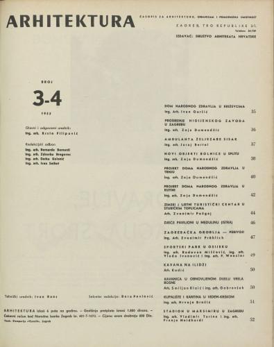 Arhitektura 1955 / 3-4