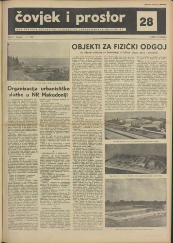 Čovjek i prostor 1955 / 28