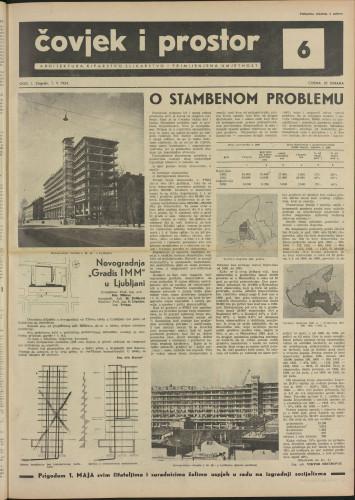 Čovjek i prostor 1954 / 6