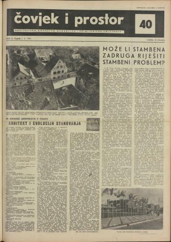 Čovjek i prostor 1955 / 40