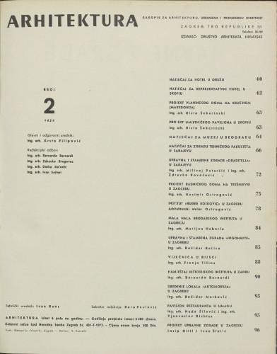 Arhitektura 1954 / 2