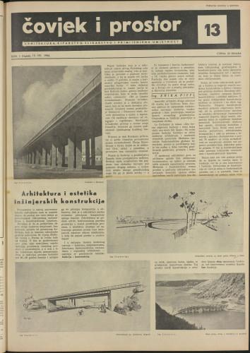 Čovjek i prostor 1954 / 13