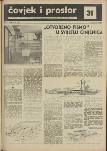 Čovjek i prostor 1955 / 31