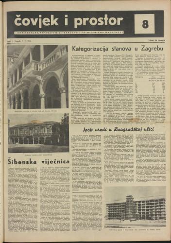 Čovjek i prostor 1954 / 8