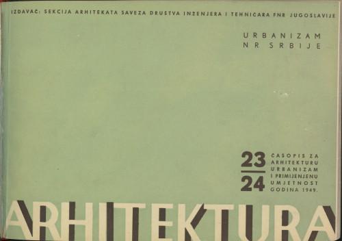 Arhitektura 1949 / 23-24