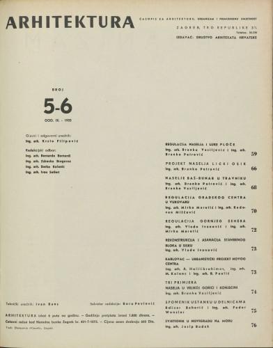 Arhitektura 1955 / 5-6