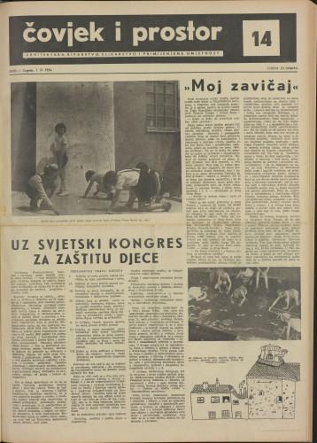 Čovjek i prostor 1954 / 14